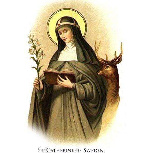 Sainte Catherine de Suède