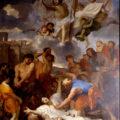 La Lapidation de saint Étienne par Charles Le Brun (1651)